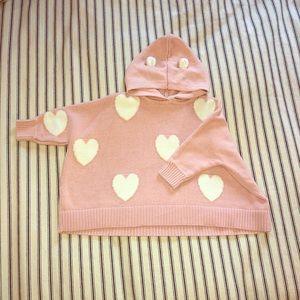 Girls Gap Poncho Sweater